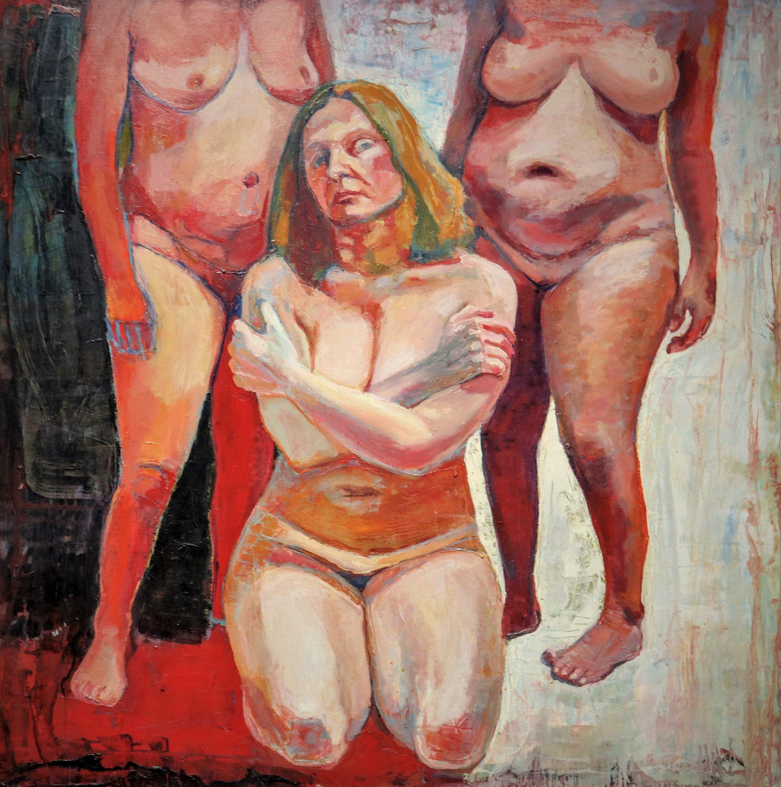 Tri gole žene